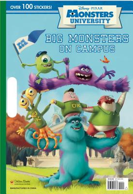 Monster University: Big Monsters on Campus [With Sticker(s)] (Paperback) | Tattered Cover Book Store