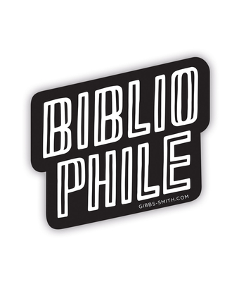 Bibliophile Sticker (Stacked) Cover Image