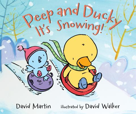 Peep and Ducky It's Snowing! Cover Image
