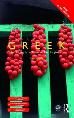 Colloquial Greek Cover Image