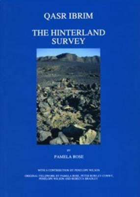 Qasr Ibrim: The Hinterland Survey (Excavation Memoirs S) Cover Image