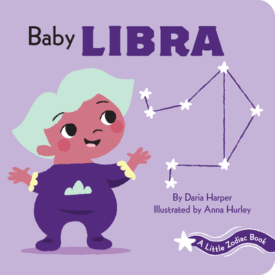 A Little Zodiac Book: Baby Libra Cover Image