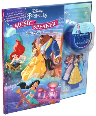 Disney Princess Music Speaker (Music Player Storybook) Cover Image