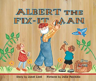 Albert the Fix-It Man Cover