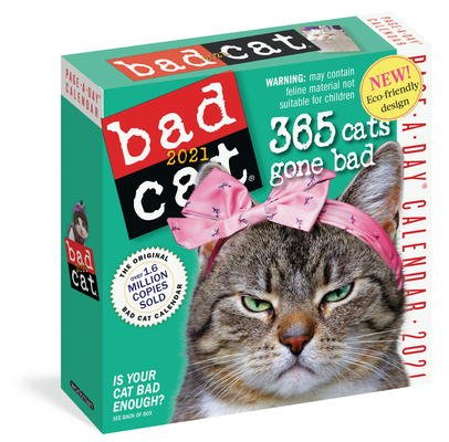 Bad Cat Page-A-Day Calendar 2021 Cover Image