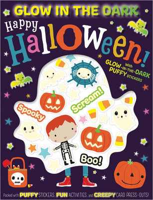Glow in the Dark Puffy Stickers Happy Halloween! Cover Image
