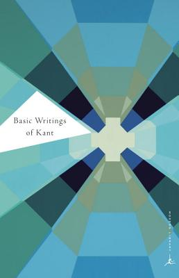Basic Writings of Kant (Modern Library Classics) Cover Image