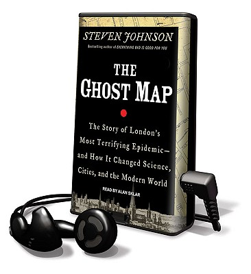 The Ghost Map [With Earbuds] Cover Image