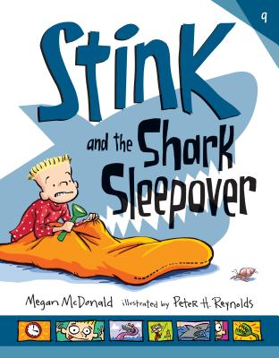 Cover for Stink and the Shark Sleepover