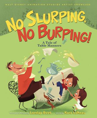 No Slurping, No Burping! Cover
