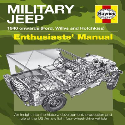 Military Jeep: 1940 Onwards (Ford, Willys and Hotchkiss) (Enthusiasts' Manual) Cover Image