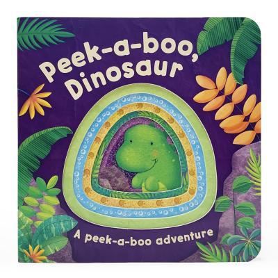 Peek-A-Boo Dinosaur (Peek-A-Boo Board Books) Cover Image