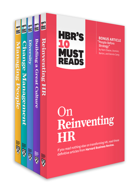 Hbr's 10 Must Reads for HR Leaders Collection (5 Books) Cover Image