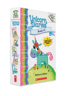 Unicorn Diaries, Books 1-5: A Branches Box Set Cover Image