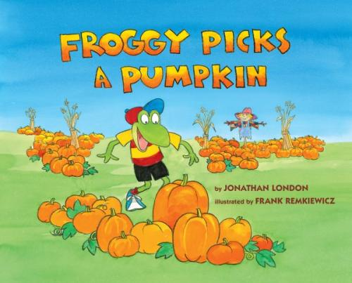 Froggy Picks a Pumpkin Cover Image