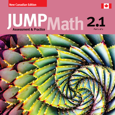 Jump Math AP Book 2.1: New Canadian Edition Cover Image