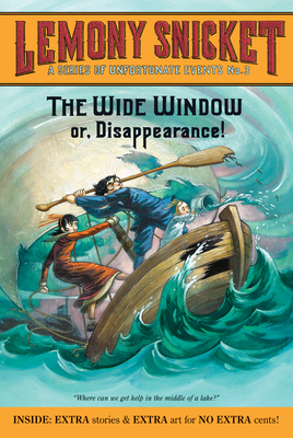 A Series of Unfortunate Events #3: The Wide Window Cover Image