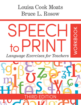 Speech to Print Workbook: Language Exercises for Teachers Cover Image