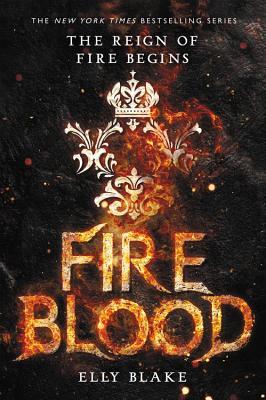 Fireblood (The Frostblood Saga #2) cover
