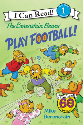 The Berenstain Bears Play Football! (I Can Read Level 1) Cover Image