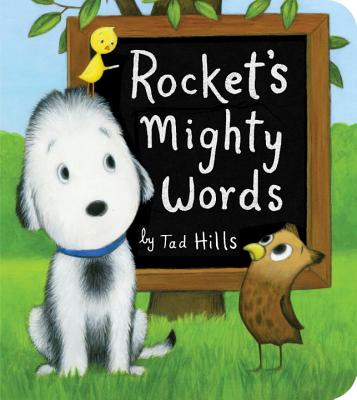 Rocket's Mighty Words (Oversized Board Book) Cover Image