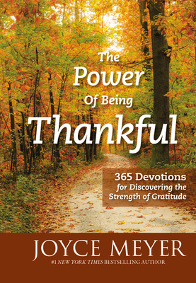The Power of Being Thankful Cover