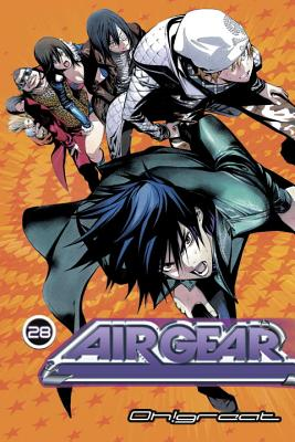 Air Gear, Volume 28 Cover