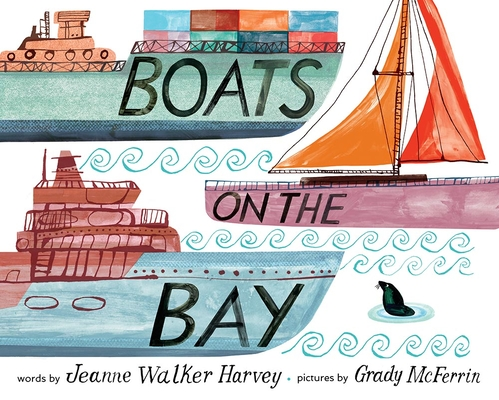 Boats on the Bay by Jeanne Walker Harvey