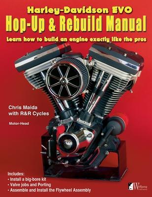 H-D Evo, Hop-Up & Rebuild Manual Cover Image