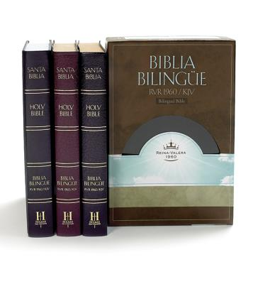Bilingual Bible-PR-RV 1960/KJV Cover Image