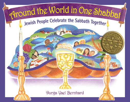 Cover for Around the World in One Shabbat