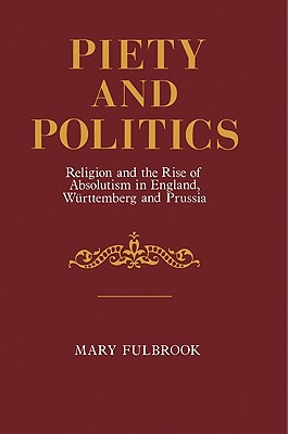 Cover for Piety and Politics