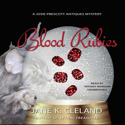 Blood Rubies Lib/E (Josie Prescott Antiques Mysteries #9) Cover Image