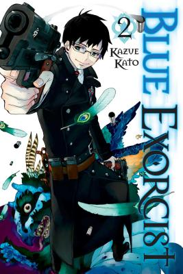 Blue Exorcist, Volume 2 Cover