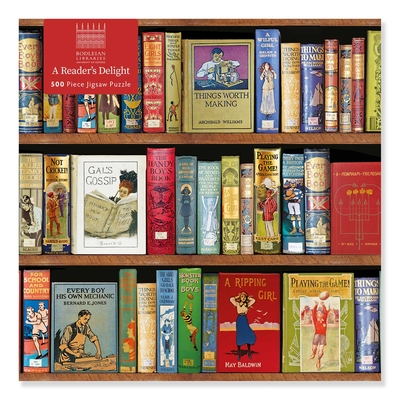 Adult Jigsaw Puzzle Bodleian Libraries: A Reader's Delight (500 pieces): 500-piece Jigsaw Puzzles Cover Image
