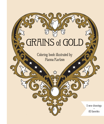 Grains of Gold Coloring Book cover