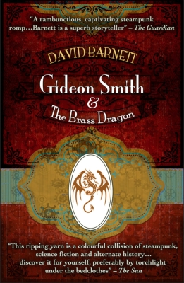 Cover for Gideon Smith and the Brass Dragon