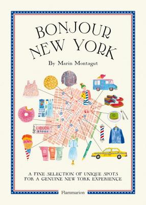 Bonjour New York: The Bonjour City Map-Guides Cover Image