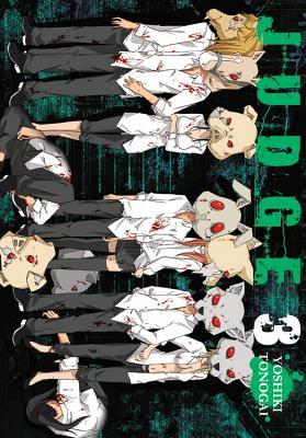 Judge, Vol. 3 Cover