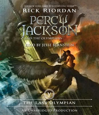 The Last Olympian: Percy Jackson and the Olympians: Book 5 Cover Image