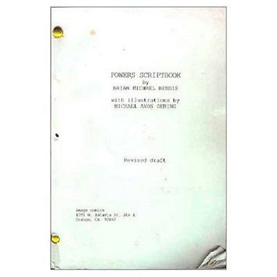 Powers Scriptbook Cover