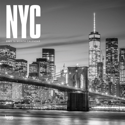 New York City Black & White 2021 Square Cover Image
