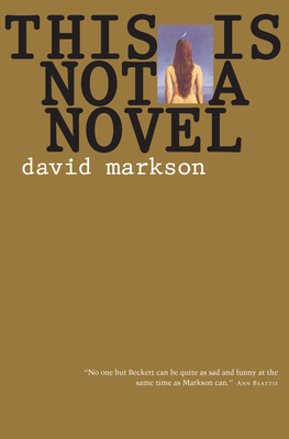 This Is Not a Novel Cover