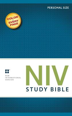 Study Bible-NIV-Personal Size Cover Image