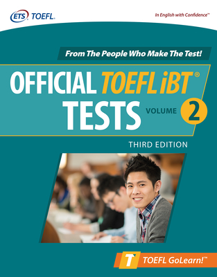 Official TOEFL IBT Tests Volume 2, Third Edition Cover Image