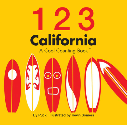 Cover for 123 California (Cool Counting Books)