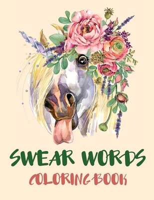 Swear Words Coloring Book Cover Image