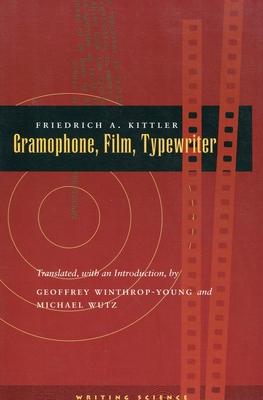 Gramophone, Film, Typewriter (Writing Science) Cover Image