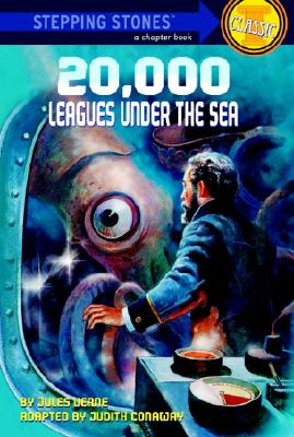 20,000 Leagues Under the Sea (A Stepping Stone Book(TM)) Cover Image