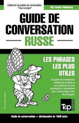 Guide de conversation Français-Russe et dictionnaire concis de 1500 mots (French Collection #261) Cover Image